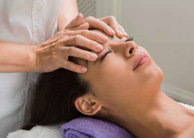 Scalp and Face Massage