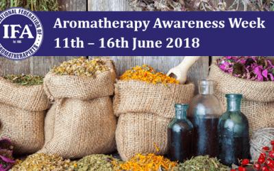 Aromatherapy Awareness Week 11th – 16th June 2018