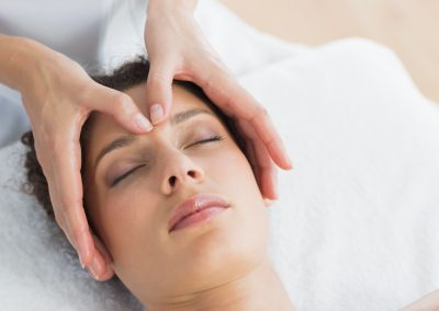 Collagen Eye Treatment and Facial Massage