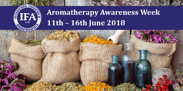 Aromatherapy Awareness Week 11th – 16th June 2018