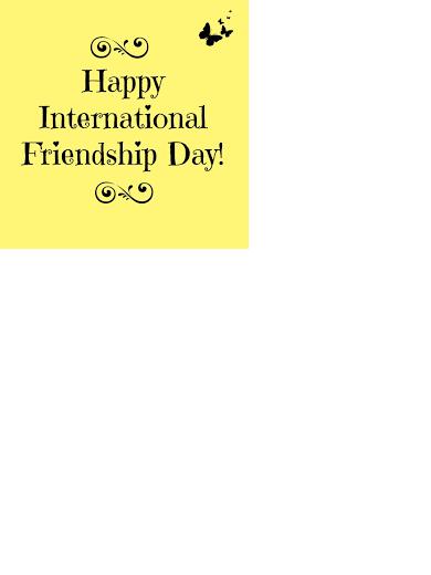 Happy International Day of Friendship